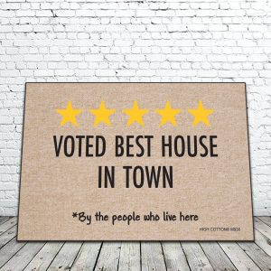 Voted best house in town