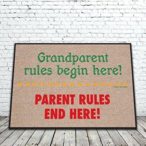 Grandparents Rules Mat
