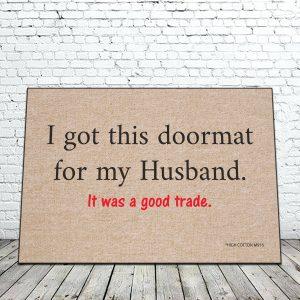 Doormat Husband Mat