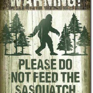 Sasquatch – Don't Feed