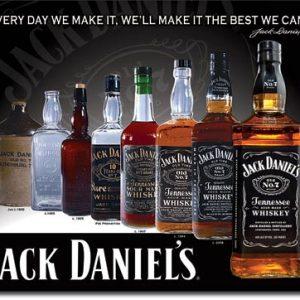 Jack Daniels – Bottles