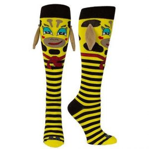 KIDS Bruno Giraffe Socks (Age 5-8)