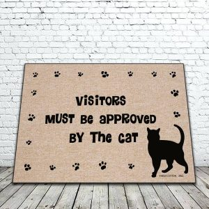 Visitors Approved by Cat Mat
