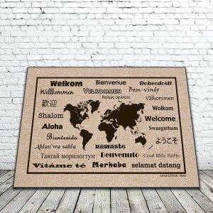 Welcome International Mat