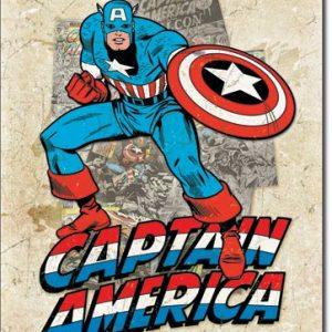 Capt America – Cover Splash