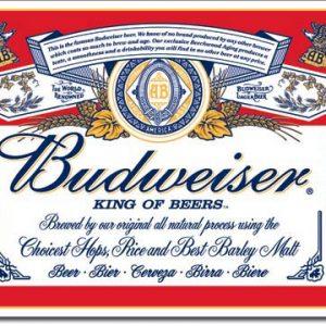 Budweiser – Label